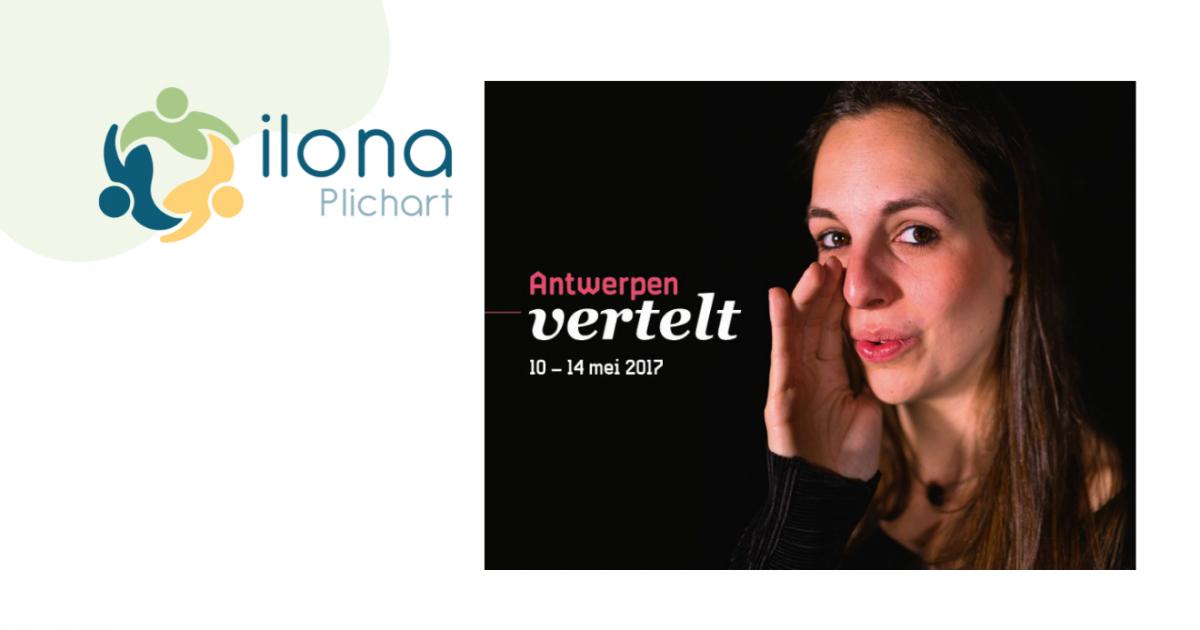 Ilona Plichart Vertelfestival stad Antwerpen